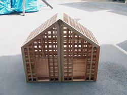 愛犬のお家(小型犬用)施工例(1)