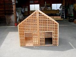 愛犬のお家(中型犬用)施工例(2)